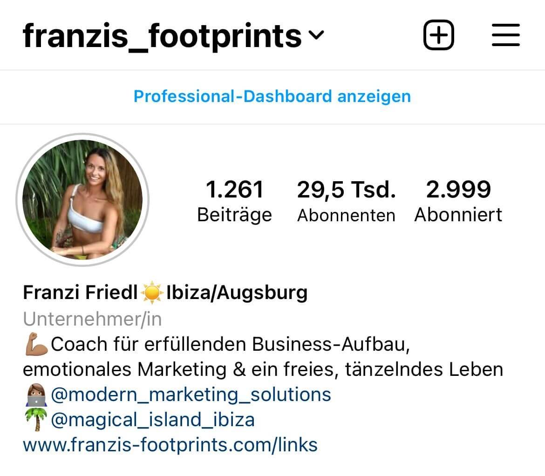 Franzis Footprints
